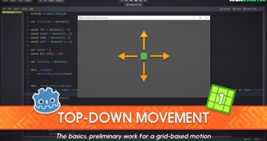 Simple Top-Down character movement in Godot: Grid-based movement 1/4