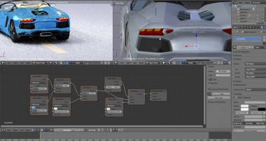 Blender Animation Blender Car Paint Node ediror tutorial part 2