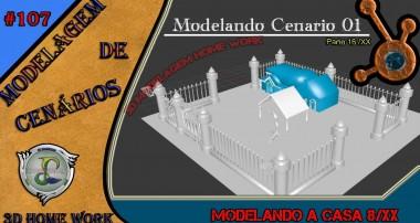 Blender Tutorial Modelagem 3D – Modelando Cenário para games e Cenarios Paisagens /17