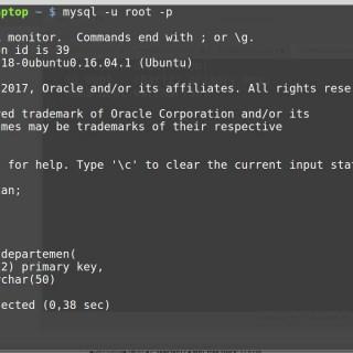 MySQL Database Tutorial #4: Menciptakan tabel dan memusnahkan tabel