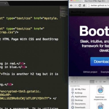 Learn Front-End Web Development FAST :: Part 4 :: CSS Framework Intro (Bootstrap)