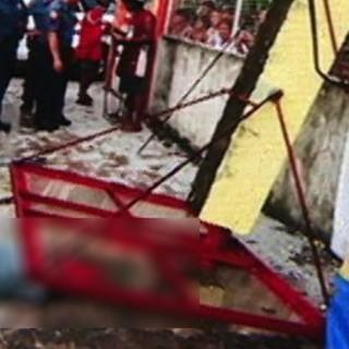 Kecelakaan olahraga: pemuda Filipina mati tertimpa pilar ring basket – TomoNews