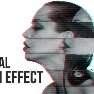 Glitch Portrait Effect | Photoshop Tutorial