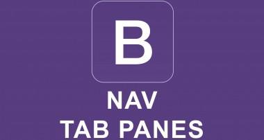 Bootstrap 4 Tutorial 35 – Nav Tab Panes