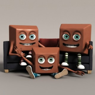 Blender Tutorial: Chocolate Bar Animation