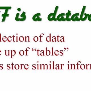 MySQL Database Tutorial – 1 – Introduction to Databases