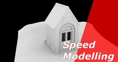 Speed Modelling – small Cabin [Blender3D]