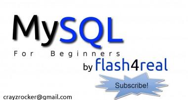 MySQL For Beginners – Tutorial 1 – Introduction to Basics