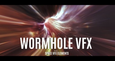 Wormhole VFX : Animate UV's | Blender Tutorial