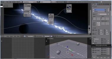 Blender 3D Electric Shock Tutorial