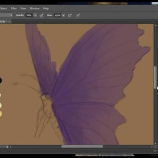 PART 1: Painting in Photoshop CS6 for BEGINNERS by Katherine Rose Barber