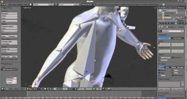 How To: Adding and rigging bones In Blender 2.5 -2.6