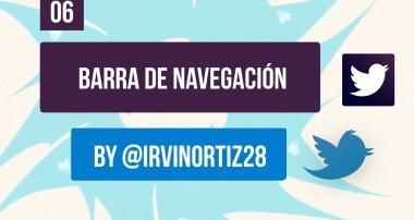 Tutorial Bootstrap 3: Barra de navegación y Menú (Nav y Navbar)