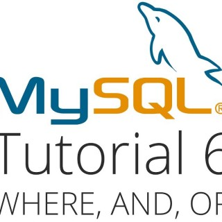 MySQL tutorial 6 – Where, And, Or