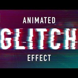 Photoshop Tutorials – Glitch Animation