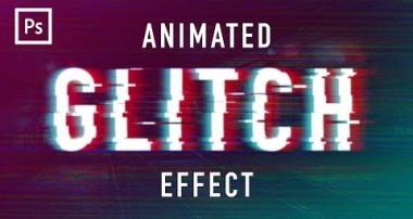 Photoshop Tutorials – Glitch Animation