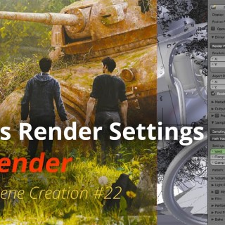 MSC #22 – Cycles Render Settings (Blender Tutorial EN)
