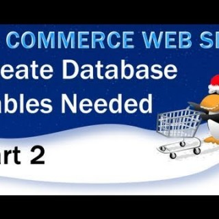 2. E – Commerce Website PHP Tutorial – MySQL Database and its Tables
