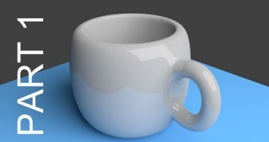 Blender Tutorial For Beginners: Coffee Cup – 1 of 2