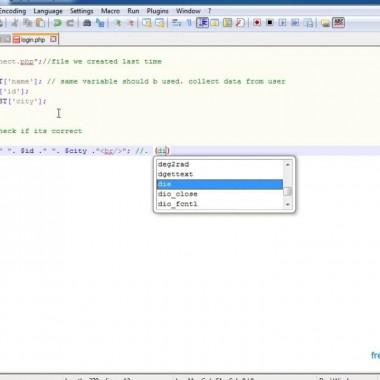 Tutorial 3: Inserting data into MySQL database using PHP