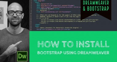 How to install Bootstrap using Dreamweaver | Bootstrap Tutorial | Dreamweaver Tutorial (08/60)