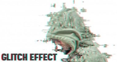 Unique Glitch Effect Photoshop Tutorial