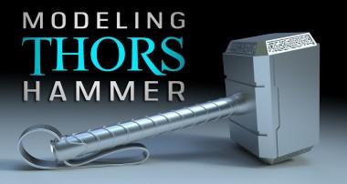 Beginner's Blender Tutorial – Modeling Thor's Hammer Mjolnir
