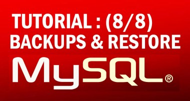 mysql tutorial for beginners (8/8) : Backing up & Restoring MySQL data