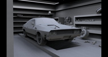 Blender 3D | Dodge challenger 1970 | Part 1