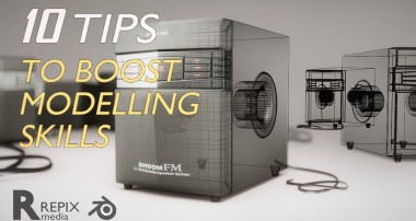 blender tutorial : 10 tips that will boost your modelling skills in blender