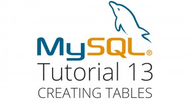 MySQL tutorial 13 – Creating and dropping tables