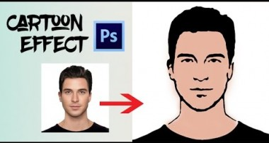 Photoshop CS6: Cartoon Effect Tutorial For Beginners Fast & Easy