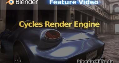 Blender 3D Tutorial – Cycles Renderer Einführung (deutsch)