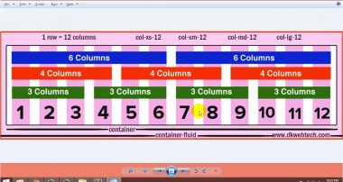 Bootstrap 3 Tutorials in Hindi I Grid System Row Column offset – 02