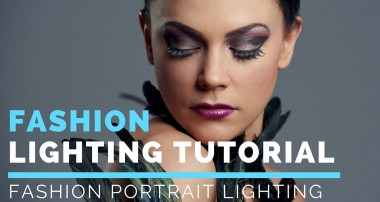 Portrait Photography Lighting Tutorial | Fashion Photography Lighting Tutorial
