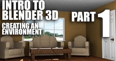 Intro to Blender 3D, Environment – Modeling Part 1