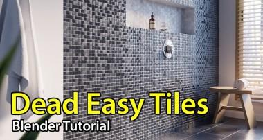 Dead Easy Tiles – Blender Tutorial