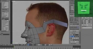 Blender 3D | Head Modeling Timelapse