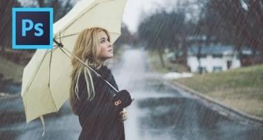Rain Effect – Photoshop CS6 Tutorial