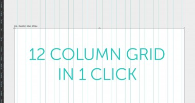 How to make a Bootstrap Grid PSD Column Guide in Photoshop CC 2015 Tutorial Part – 20/48