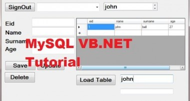 MySQL VB.NET Tutorial 14 : Search data in database and Filter in datagridview