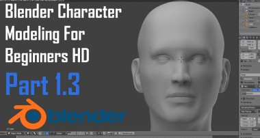 Blender Character Modeling For Beginners : The Human Head – Part 1