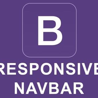 Bootstrap 4 Tutorial 40 – Responsive Navbar