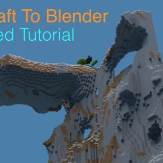 Blender Minecraft AMPLIFIED Render Tutorial (Cycles)