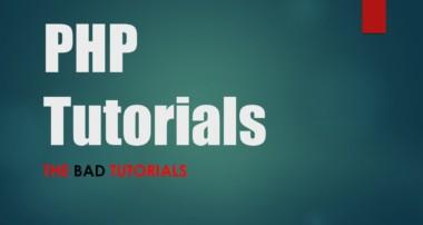 PHP & MySQL Tutorial – 3: First PHP Script