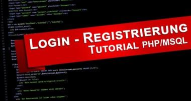 PHP Tutorial | Login und Registrierung mit MySQL-Datenbank | Deutsch – Teil 1