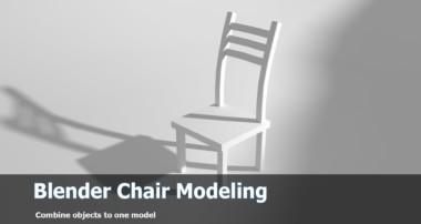 Blender Modeling Tutorial: Chair