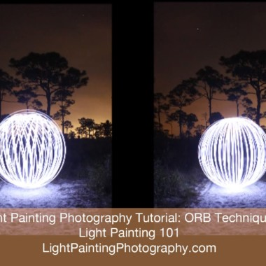 Light Painting Photography Tutorial: Orb Techniques