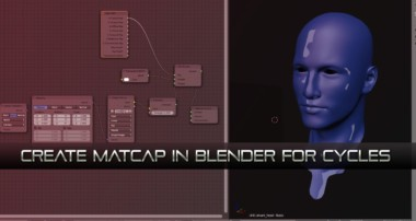 Blender tutorial – Create Matcaps From Scratch and Render in Cycles