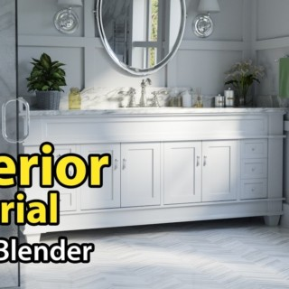 Blender Tutorial: Architectural Interior – Part 1 of 2